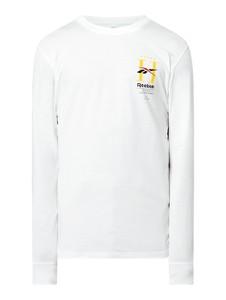 Koszulka z długim rękawem Reebok z długim rękawem z bawełny
