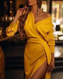 Sukienka Kendallme w stylu casual asymetryczna