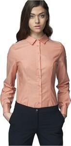 Różowa koszula Nife z bawełny
