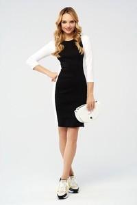 cd05ffaf65 sukienka biało czarna na wesele. - stylowo i modnie z Allani