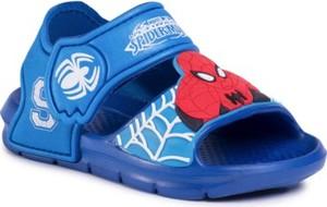 Niebieskie buty dziecięce letnie Spiderman Ultimate