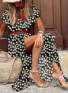 Sukienka Sandbella w stylu boho maxi