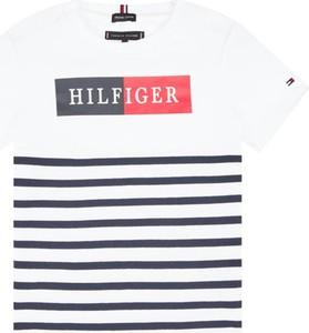 Koszulka dziecięca Tommy Hilfiger w paseczki