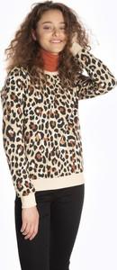Bluza Gate krótka w młodzieżowym stylu z bawełny