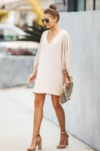 Sukienka Ivet.pl z długim rękawem w stylu casual