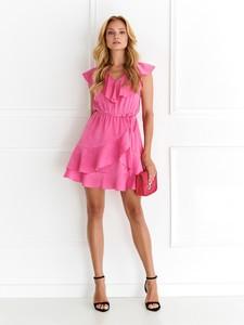 Różowa sukienka Top Secret mini