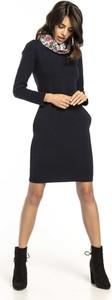 Czarna sukienka Tessita z bawełny w stylu casual