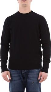 Czarny sweter Drumohr z kaszmiru