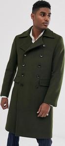 Zielona kurtka Devils Advocate z jedwabiu