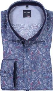 Koszula Olymp z długim rękawem z klasycznym kołnierzykiem z bawełny