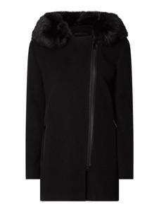Czarna kurtka Fuchs Schmitt w stylu casual z wełny długa