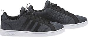 Trampki Adidas w sportowym stylu ze skóry ekologicznej sznurowane