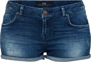 Granatowe szorty LTB w stylu casual z jeansu