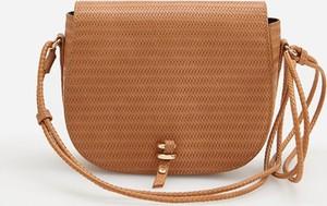 Brązowa torebka Reserved mała na ramię