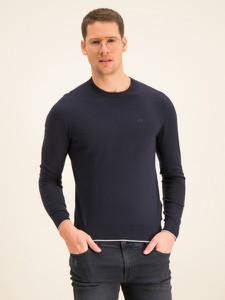 Granatowy sweter Armani Jeans