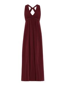Sukienka Jake*s Cocktail z szyfonu z dekoltem w kształcie litery v maxi
