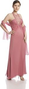 Sukienka Fokus w stylu glamour maxi oversize