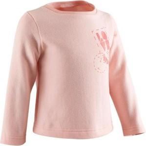Różowa bluza dziecięca Domyos