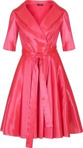 Sukienka Poza kopertowa mini