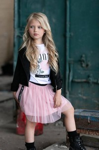 Spódniczka dziewczęca All For Kids z tiulu