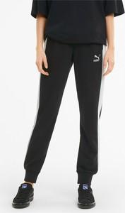 Czarne spodnie sportowe Puma