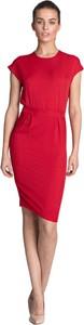 Sukienka Nife midi z krótkim rękawem