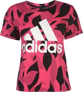 T-shirt Adidas z nadrukiem
