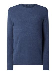 Niebieski sweter Selected Homme z bawełny