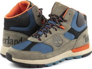 Buty zimowe Timberland sznurowane z zamszu