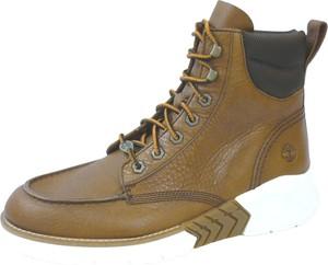 Brązowe buty zimowe Timberland sznurowane