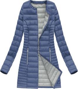 Niebieska kurtka Dream Stone długa