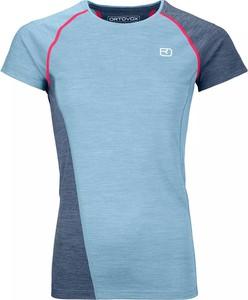 T-shirt Ortovox w stylu casual z krótkim rękawem