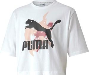 Bluzka dziecięca Puma z bawełny z krótkim rękawem