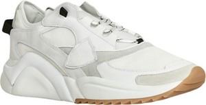 Buty sportowe Philippe Model ze skóry sznurowane