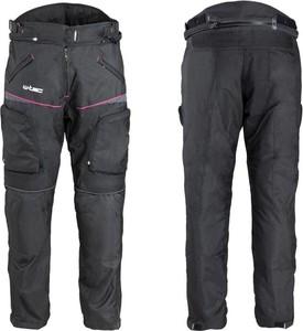 Czarne spodnie W-tec