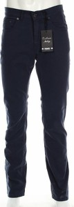 Granatowe spodnie Pioner
