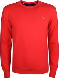 Czerwony sweter Gant z tkaniny