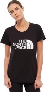 T-shirt The North Face z krótkim rękawem z okrągłym dekoltem w młodzieżowym stylu