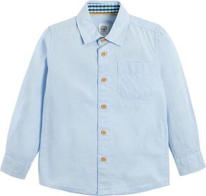Niebieska koszula dziecięca Cool Club z bawełny
