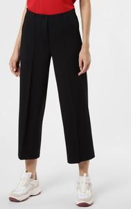 Czarne spodnie Cambio z wełny w stylu retro