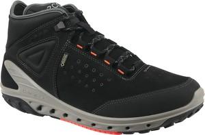 48e20fef Czarne buty sportowe Ecco sznurowane w sportowym stylu ze skóry