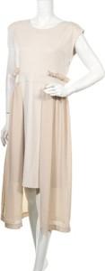Sukienka Gebe midi asymetryczna