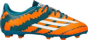 Pomarańczowe buty sportowe dziecięce adidas