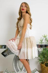 Sukienka Olika mini z dekoltem w kształcie litery v