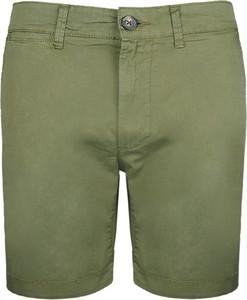 Zielone spodenki Pepe Jeans w stylu casual z tkaniny