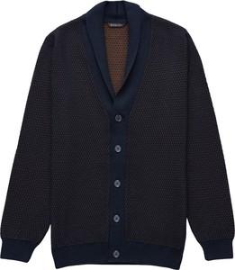 Czarny sweter Borgio z wełny