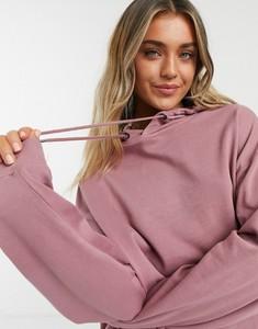Fioletowa bluza Asos z bawełny