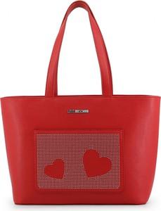 Czerwona torebka Love Moschino duża