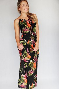 Sukienka Endoftheday maxi z tkaniny