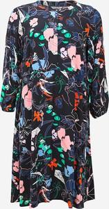 Sukienka Tom Tailor z okrągłym dekoltem z długim rękawem